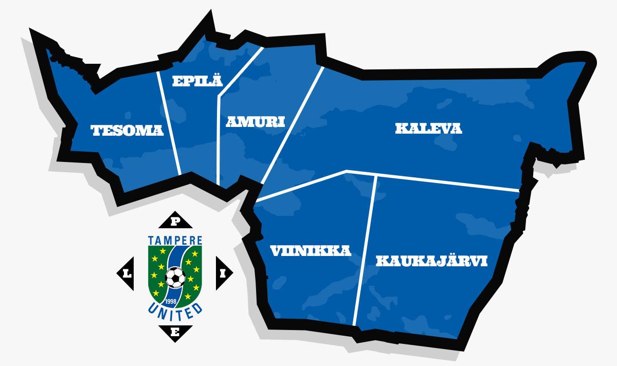 TamU-juniorit kaupunginosakartta