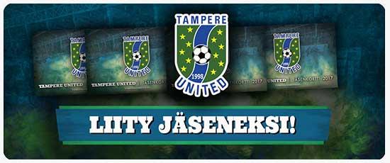 liity Tampere Unitedin jäseneksi!