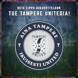 Aina Tampere - Ikuisesti United -tukikampanja