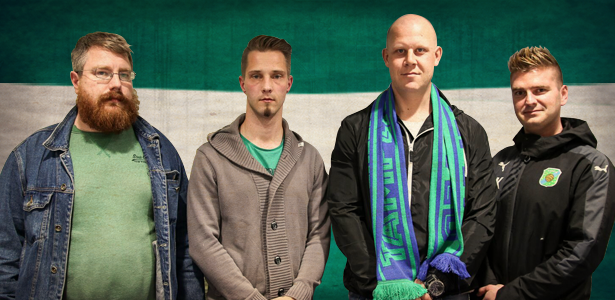 Juha Pietilä, Markus Halme, Mikko Mäkelä ja Sami Koivula