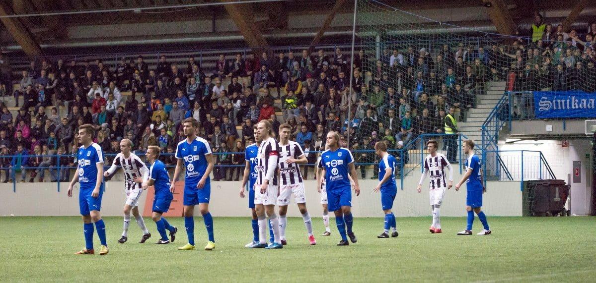Ottelussa oli paikalla mukavat 441 katsojaa