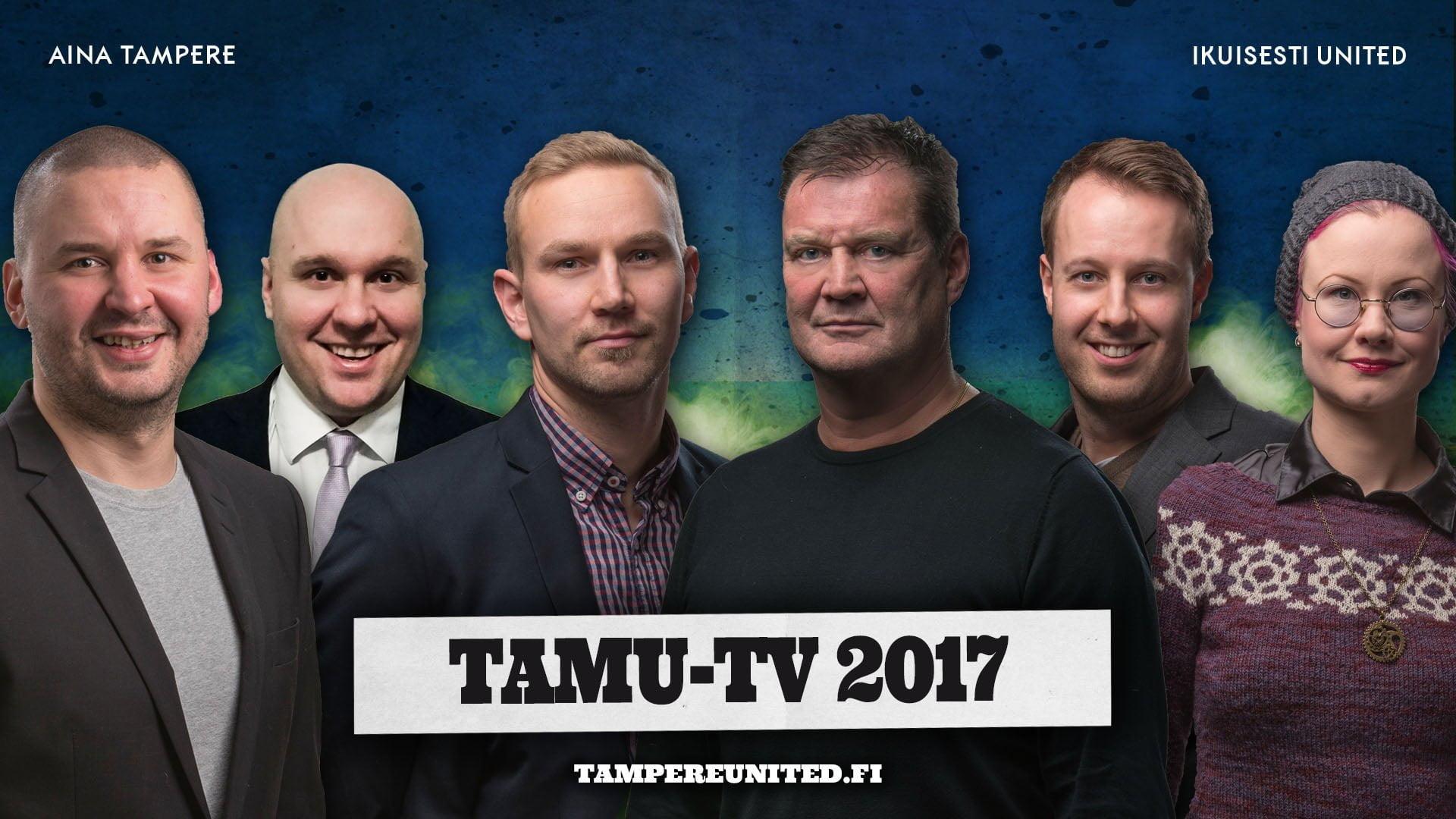 Ari Hjelm ja Ville Lehtinen kuuluvat TamU-TV:n tulevan kauden studiotiimiin,