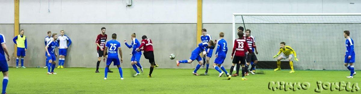 Giorgi Ositashvili tekee 0–1-maalin.