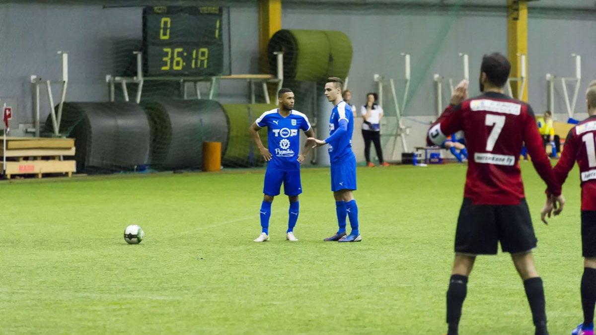 Leroy Maluka ja Niclas Kalatsev juonivat 1–1-tasoitusta.