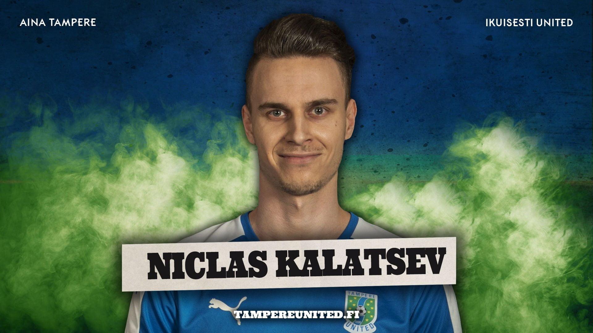 Retrokausi käynnistyi Kultsun kaadolla – lue ottelun hahmon Niclas Kalatsevin tuoreet kuulumiset -uutiskuva