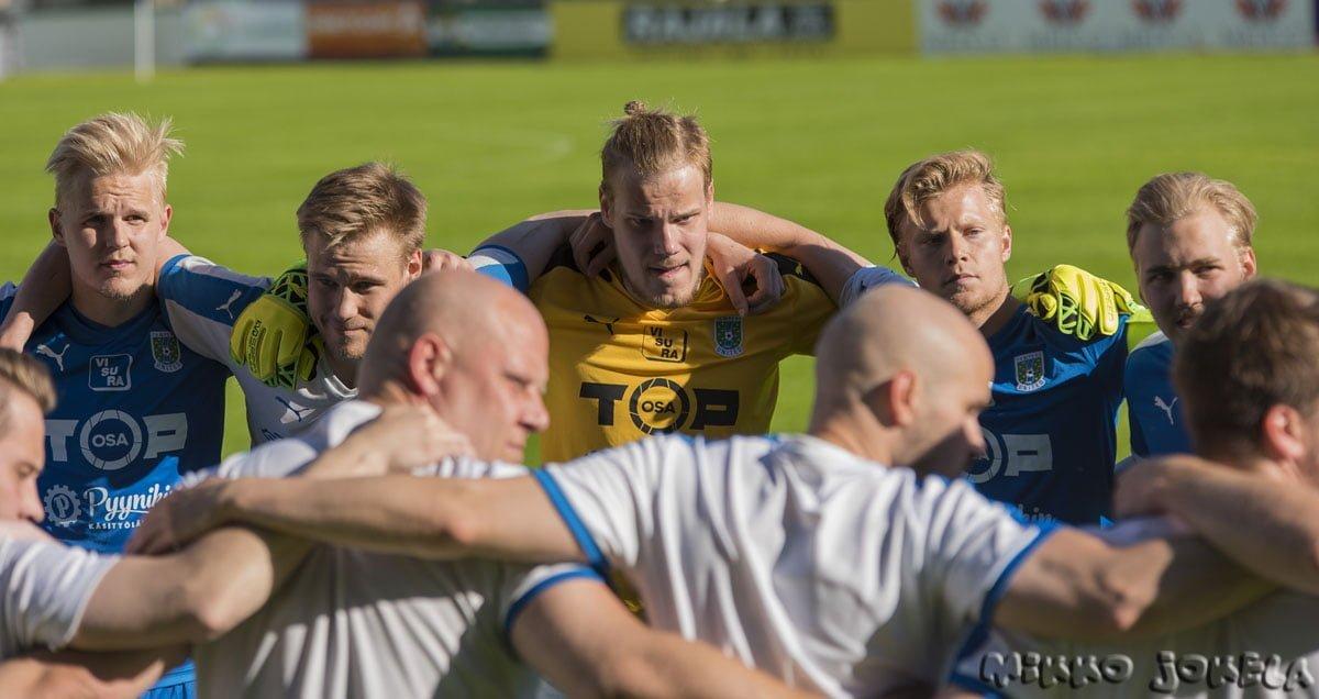 Viikon ensimmäisellä Helsingin vierailulla vastassa FC Viikingit -uutiskuva