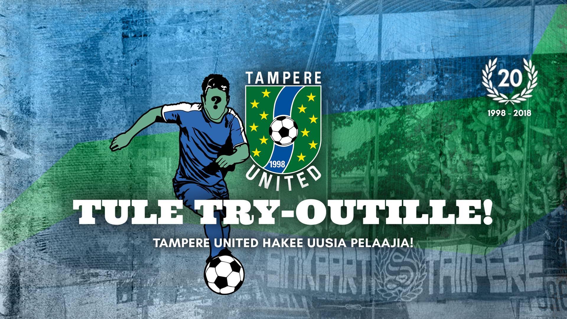 Tule tryoutille Tampere Unitediin -uutiskuva