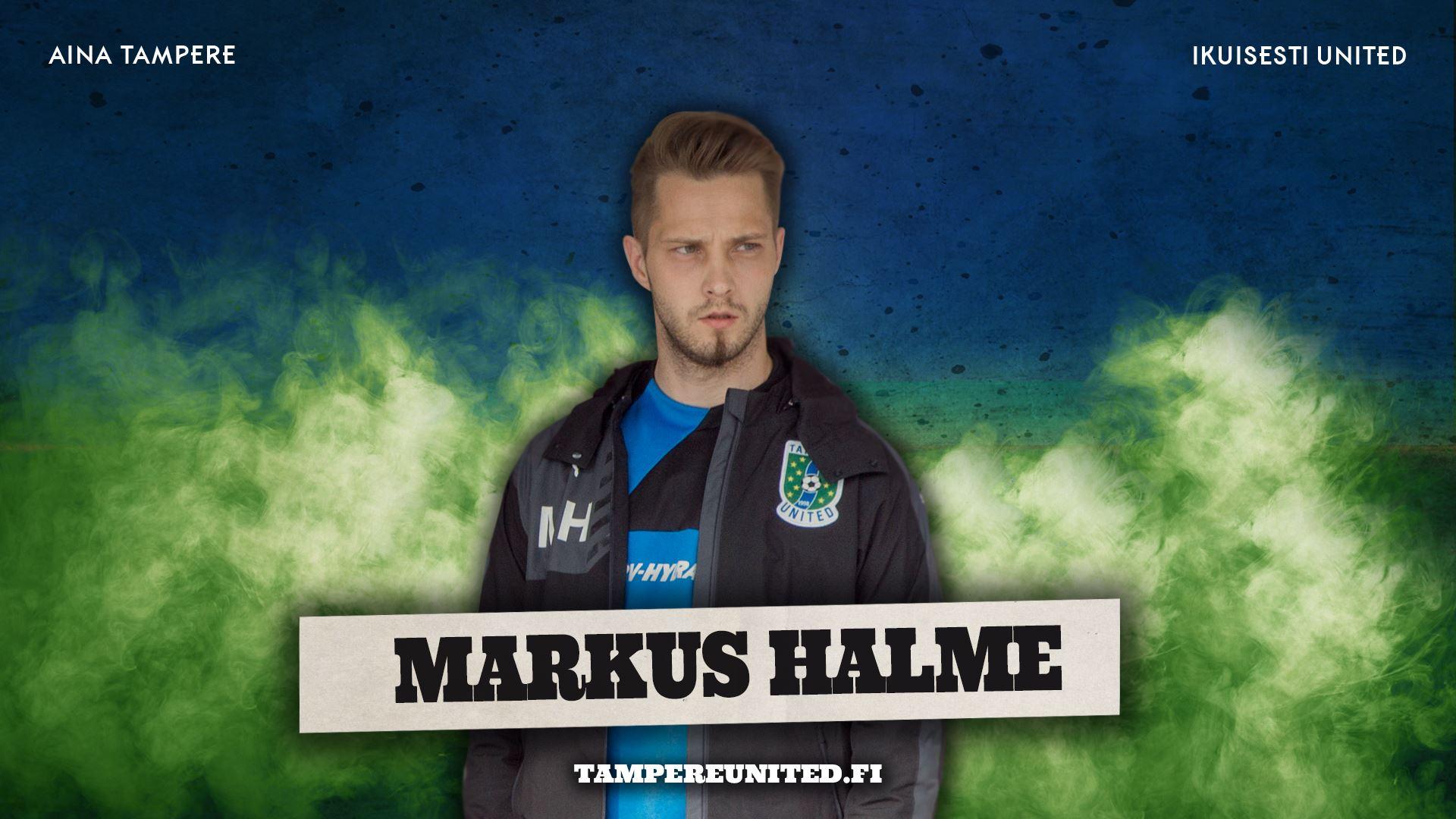 Markus Halme jatkaa valmennustiimissä -uutiskuva