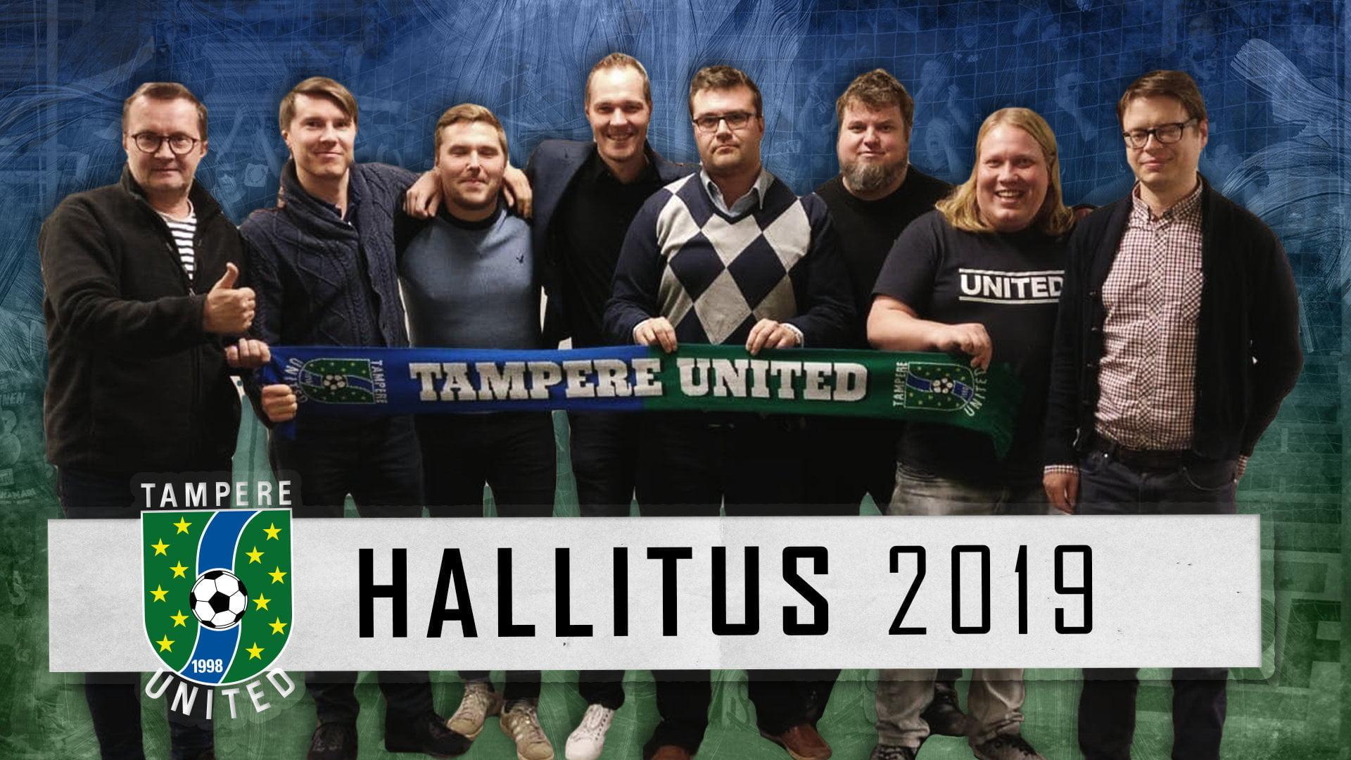 Syyskokous valitsi Tampere Unitedille uuden hallituksen -uutiskuva