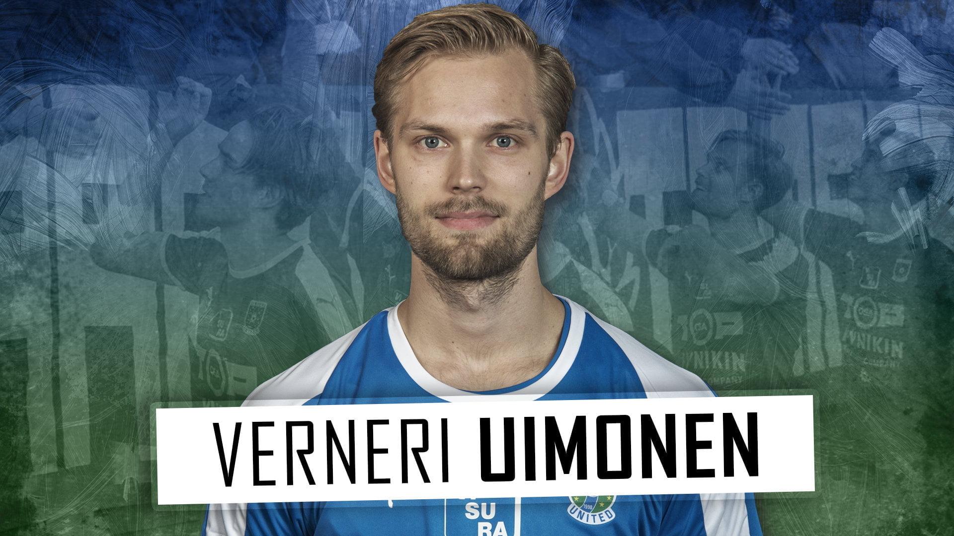 Verneri Uimonen jatkaa TamUssa 1+1-vuotisella sopimuksella -uutiskuva