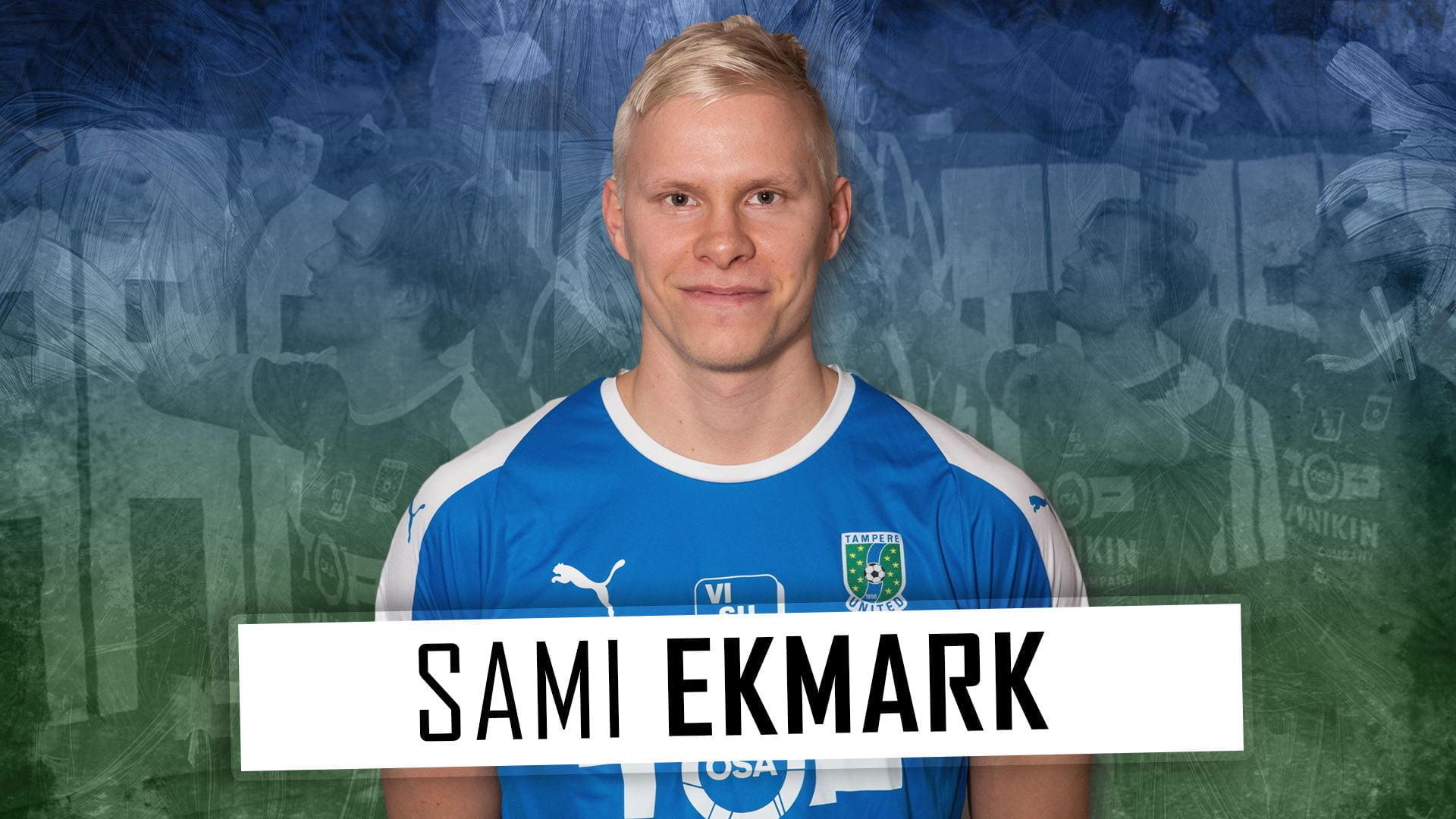 Sami Ekmark tuo johtajuutta Tampere Unitedin puolustukseen -uutiskuva