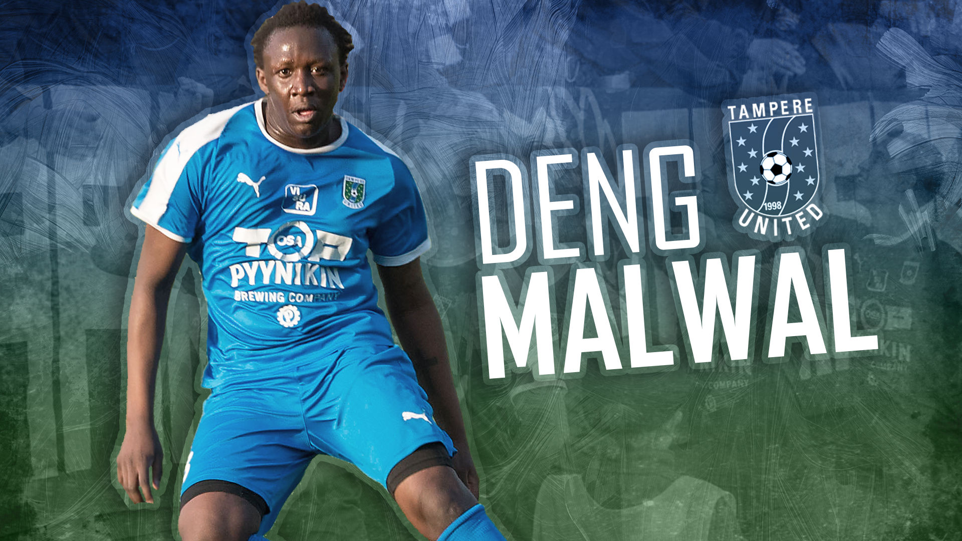Deng Malwal vahvistaa Tampere Unitedia -uutiskuva