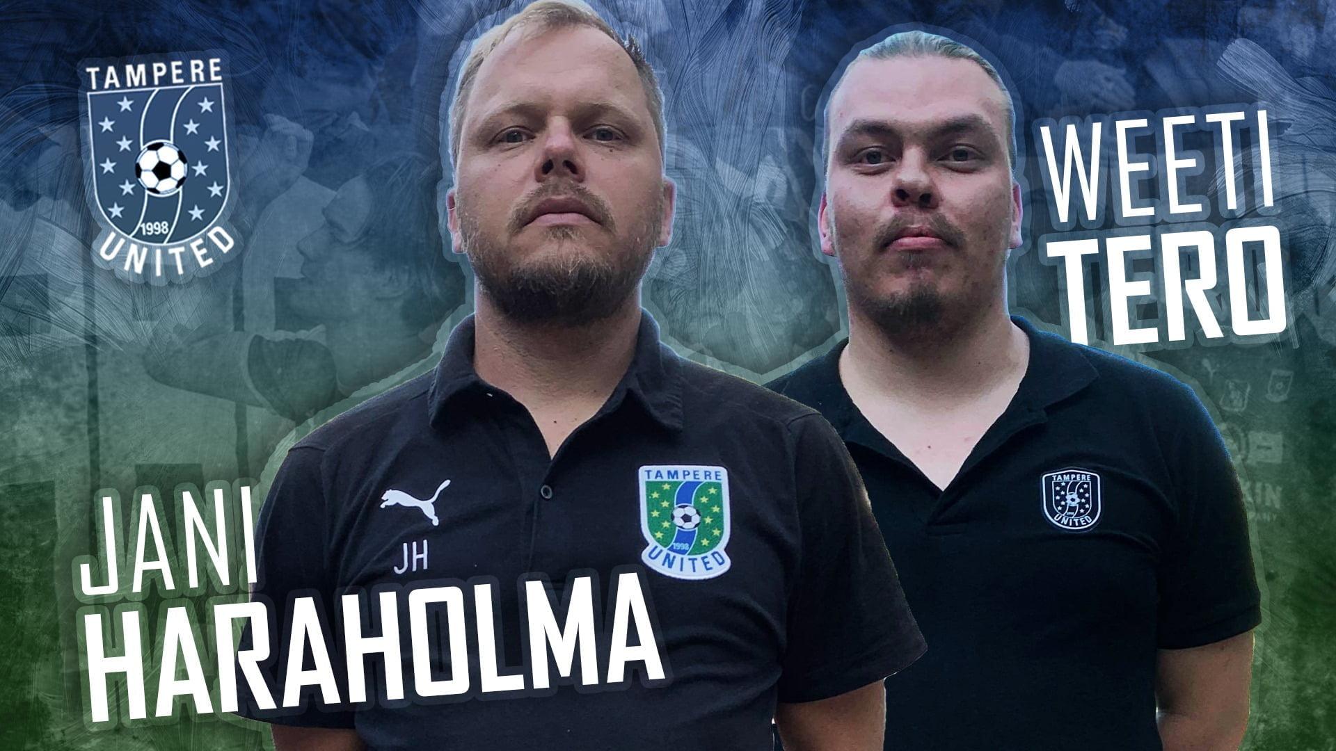 Haraholma ja Tero jatkavat kauden 2019 loppuun – samalla valmentajahaku 2020 auki -uutiskuva