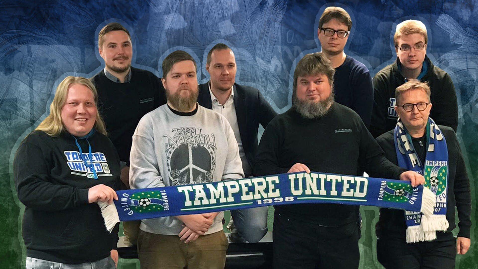 Tampere Unitedin uusi hallitus valittu – Antti Niemistöstä puheenjohtaja -uutiskuva