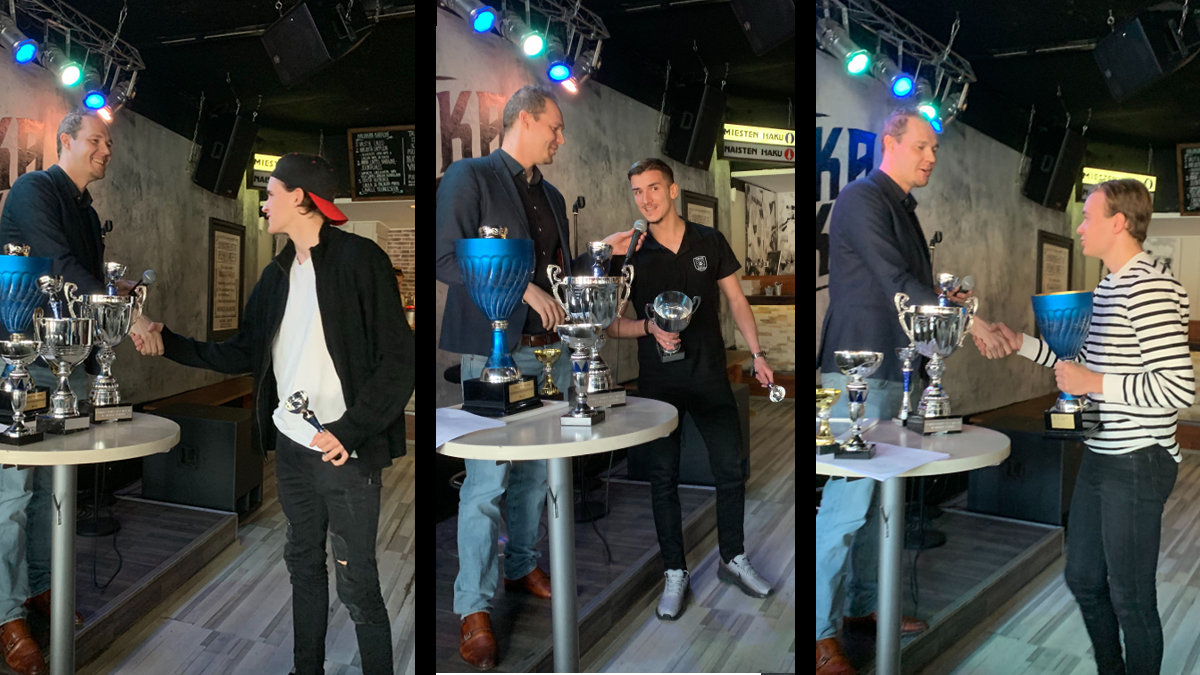 Kauden 2019 parhaat palkittiin lauantaina Kaijakassa -uutiskuva