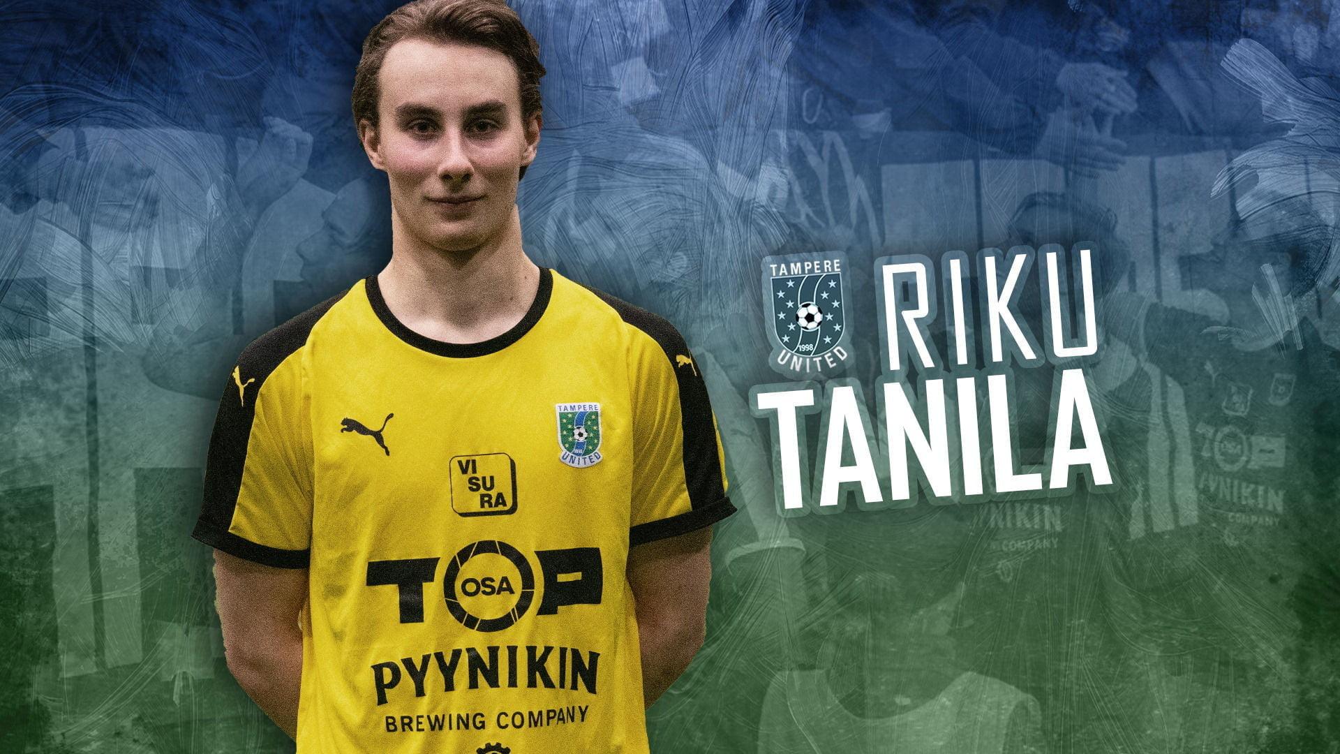 Riku Tanila on TamUn uusi maalivahti -uutiskuva