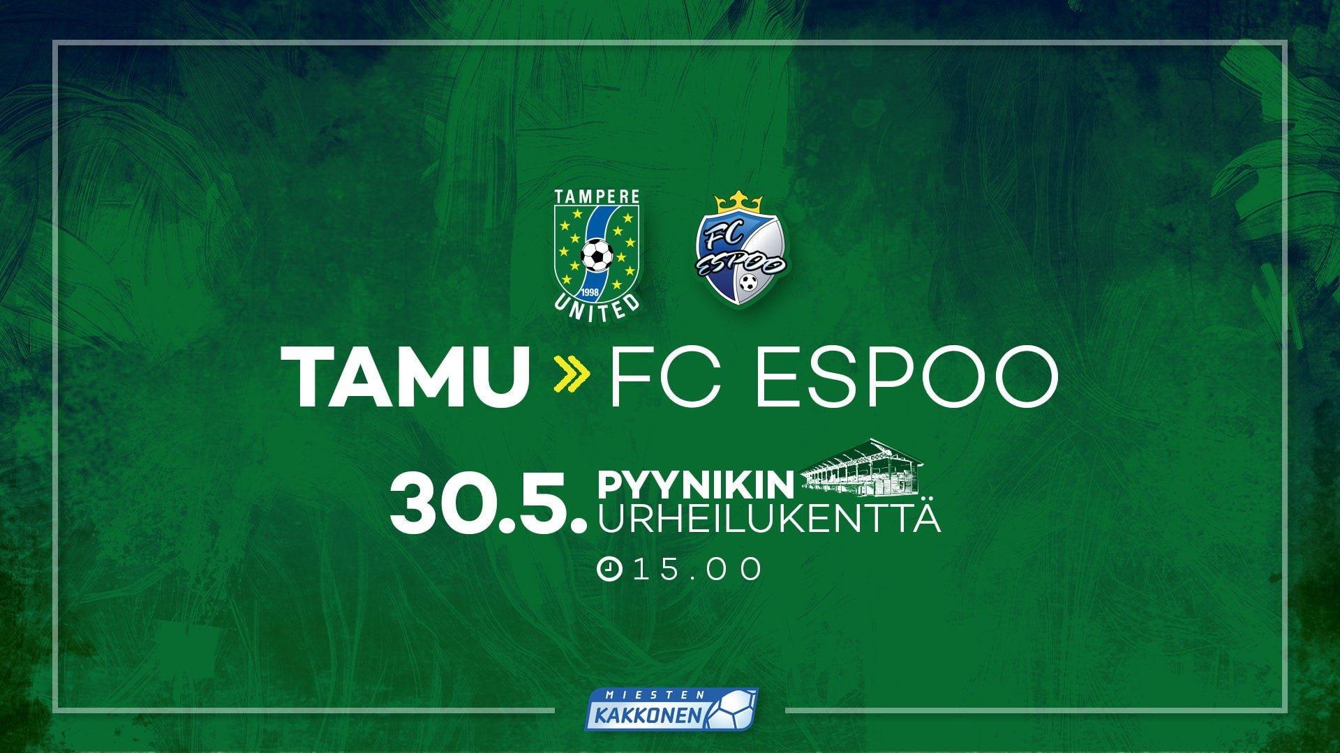 Viimeinen retroviikonloppu käyntiin – FC Espoo saapuu Pyynikille -uutiskuva