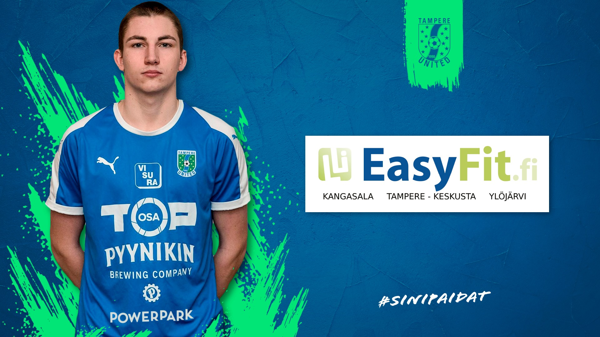 EasyFit tuo lisävoimaa kauteen – Nils Strömsholm on yksi innokkaista hyödyntäjistä -uutiskuva