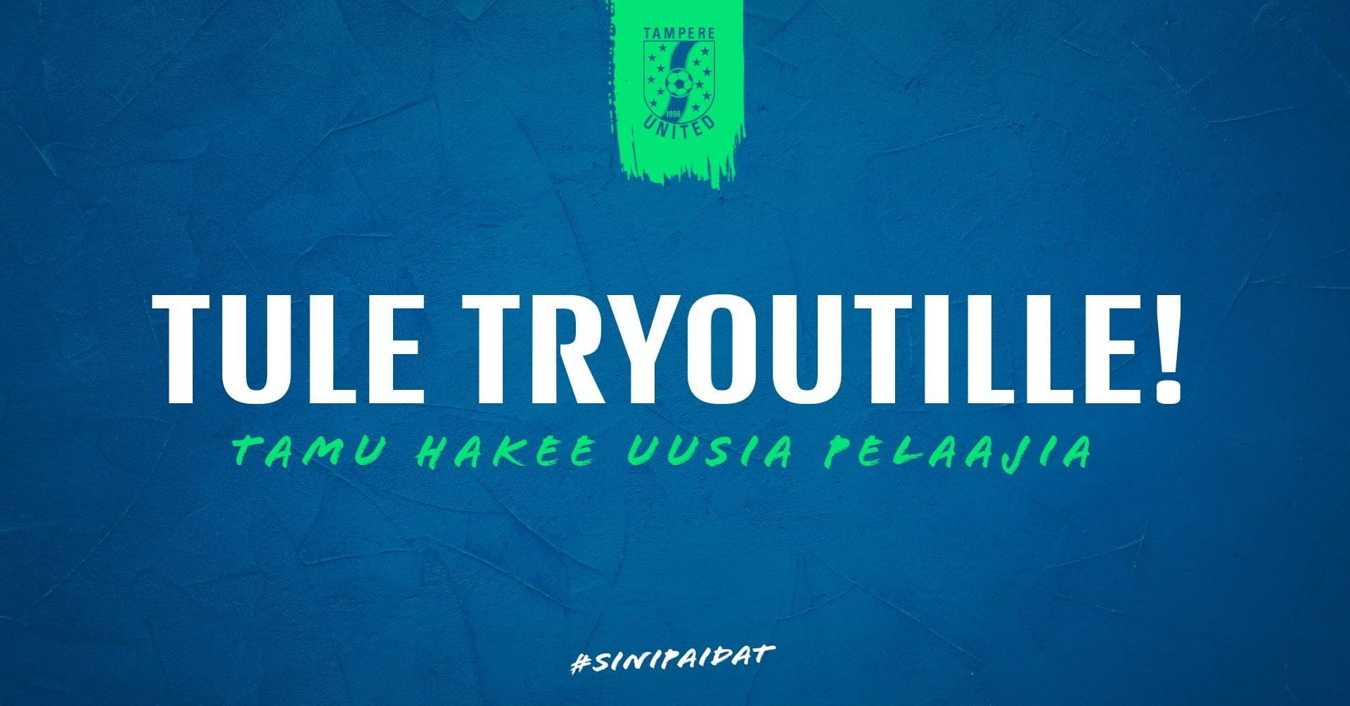 Tampere United hakee pelaajia – ilmoittaudu edustusjoukkueen tryouteille -uutiskuva