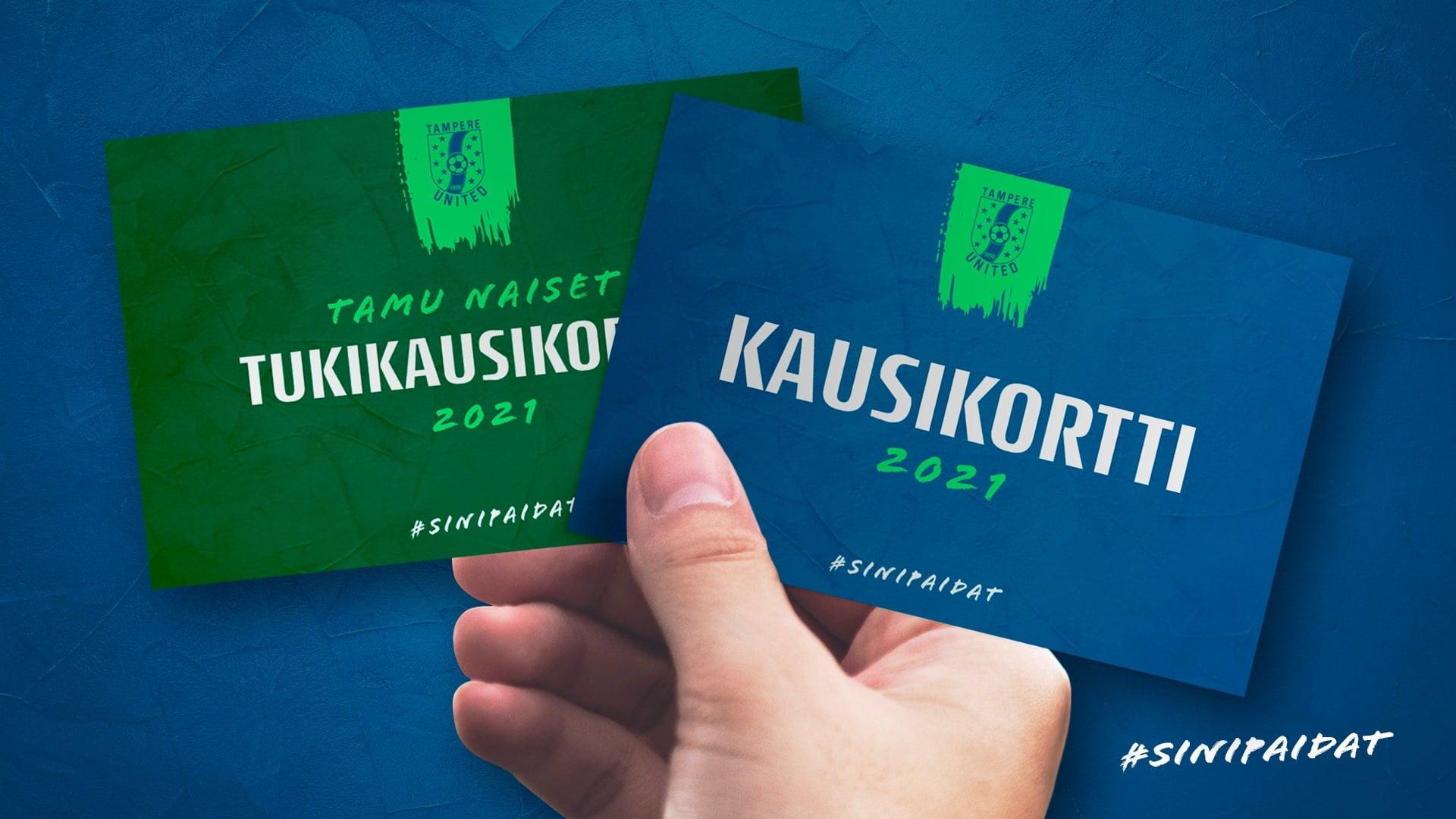Kausikortit kaudelle 2021 myynnissä – osta myös naisten edustusjoukkueen tukikausari -uutiskuva