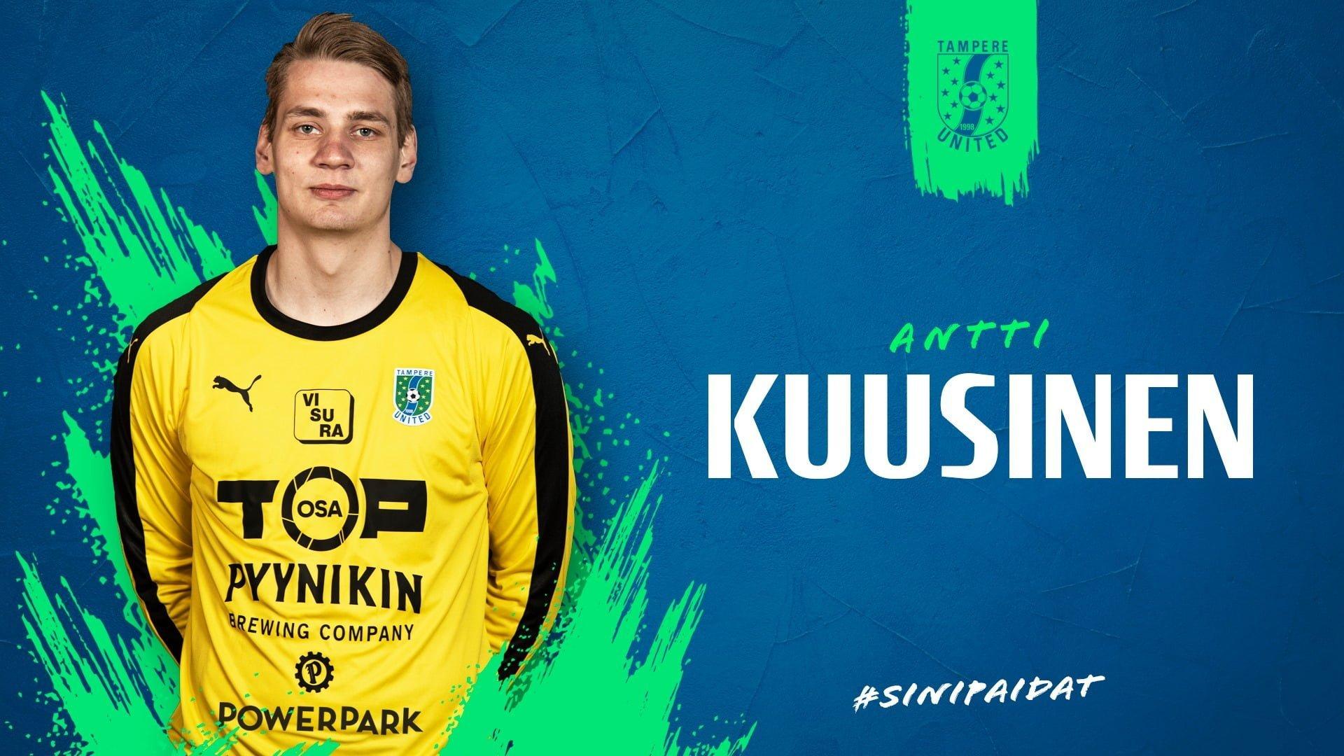 Antti Kuusinen tekee paluun Unitedin maalinsuulle -uutiskuva