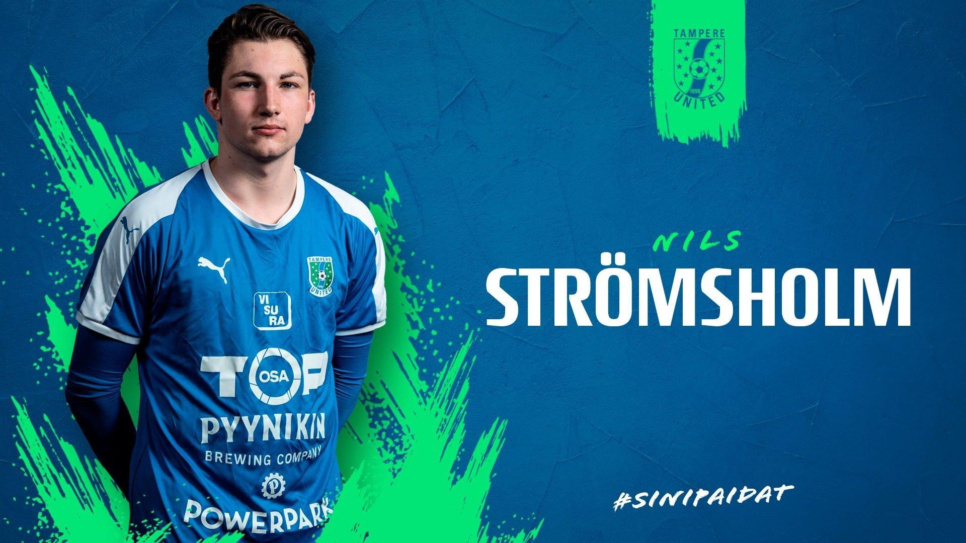 Nils Strömsholm lähtee kolmanteen kauteensa Sinipaidoissa -uutiskuva