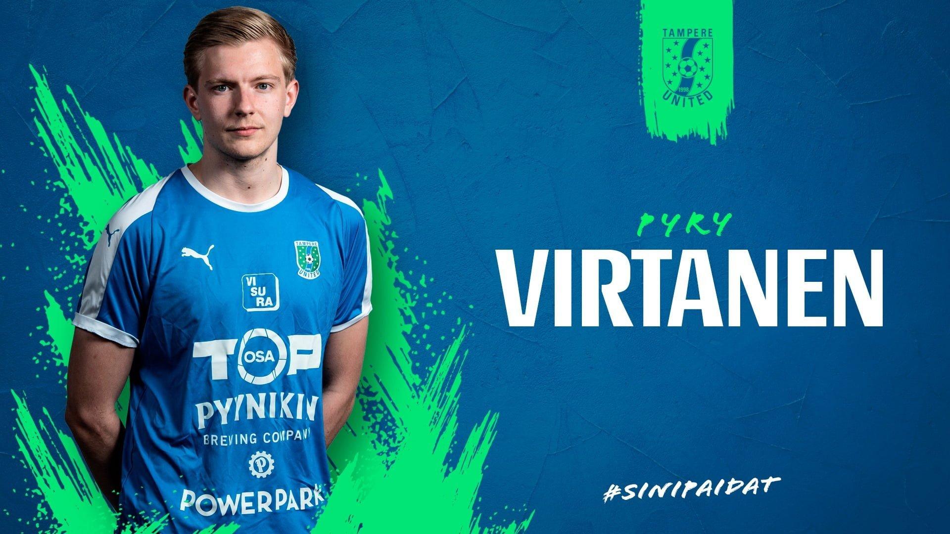 Pyry Virtanen jatkosopimukseen -uutiskuva