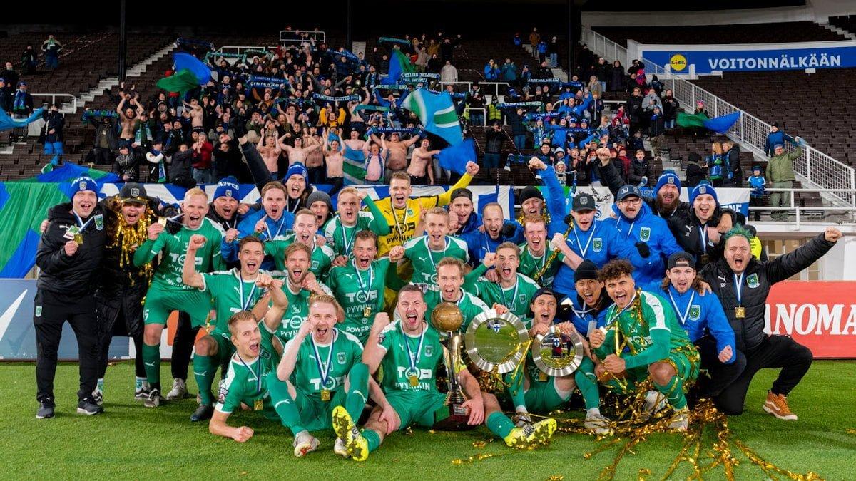 Tampere United juhlii Suomen Regions' Cupin mestaruutta – finaalissa murskavoitto 0–5 (0–3) -uutiskuva