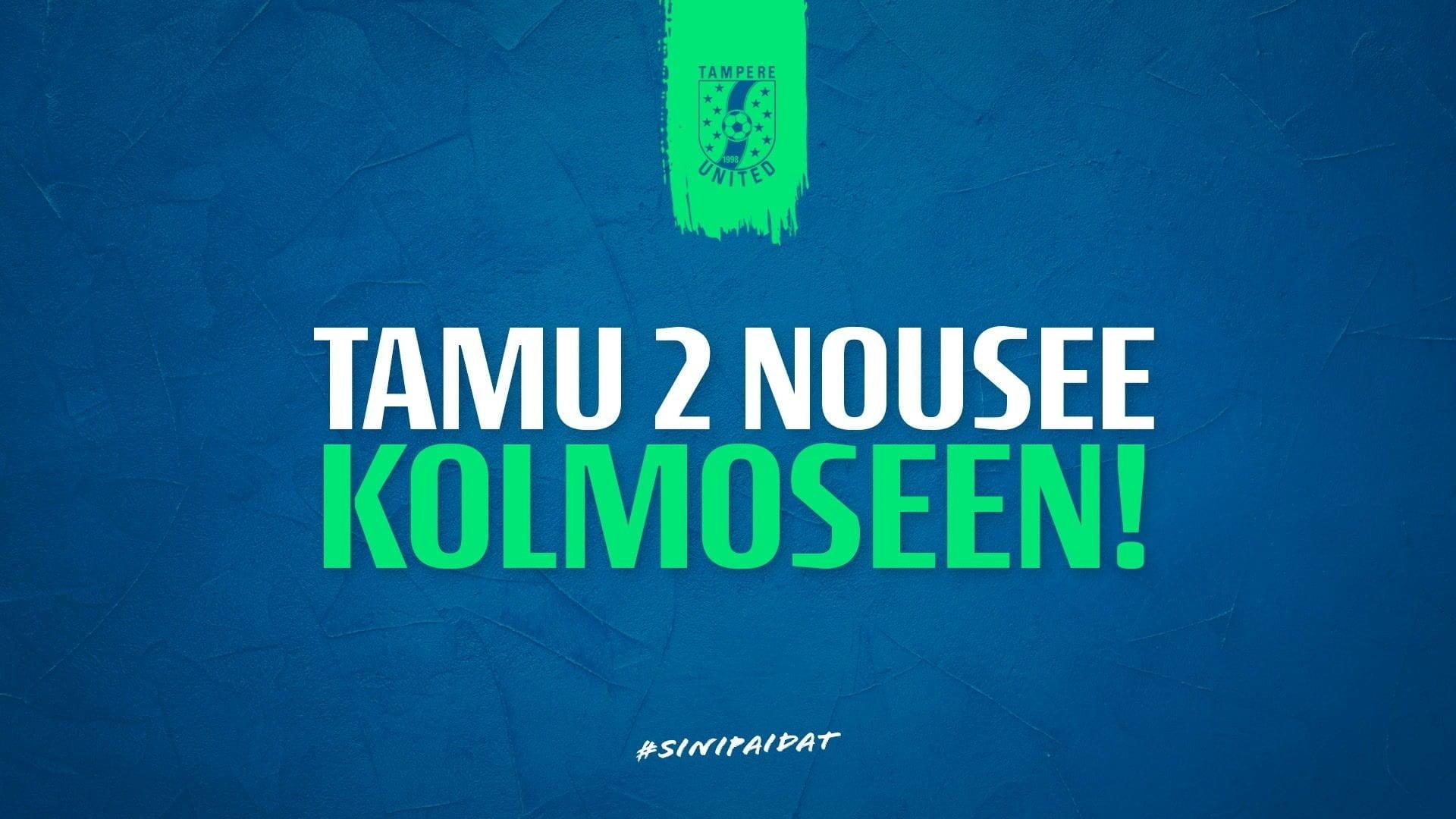 Tampere Unitedin kakkosjoukkue nousi Kolmoseen -uutiskuva