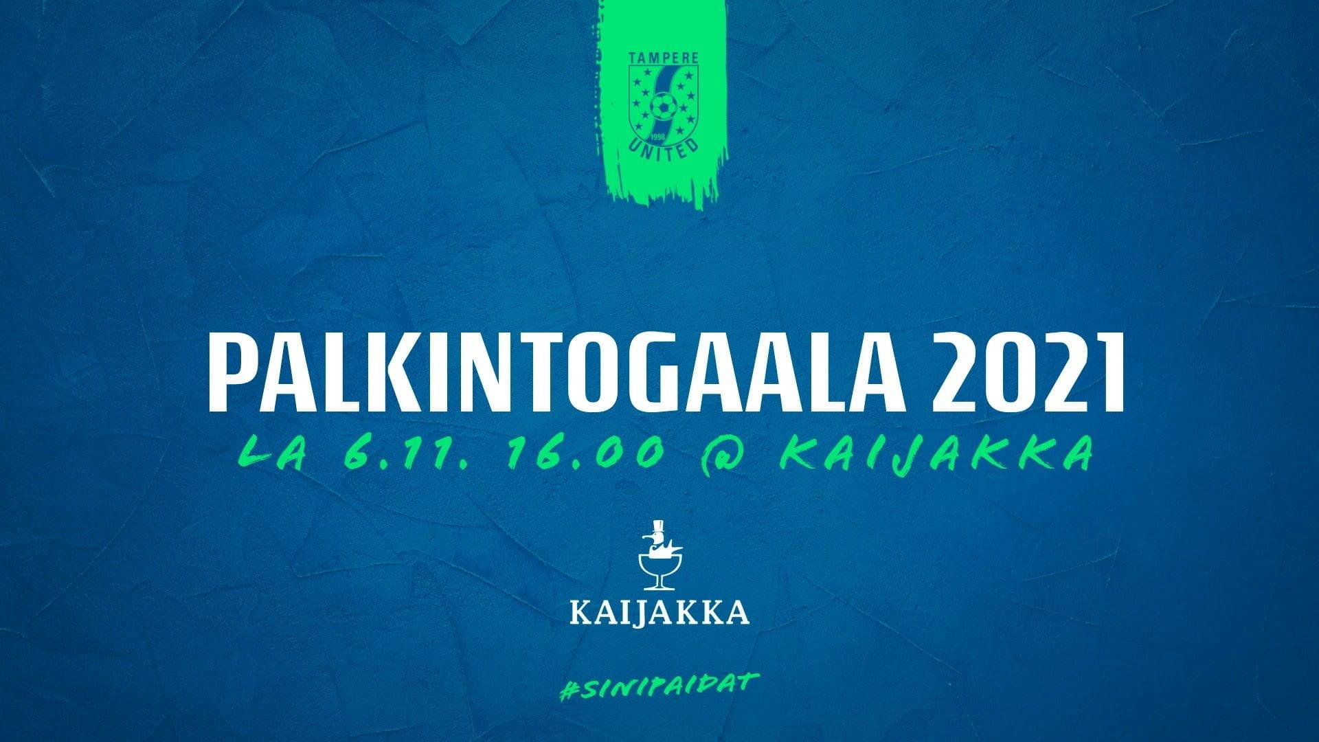 Palkintogaala lauantaina 6.11. – Äänestä kauden paras pelaaja -uutiskuva