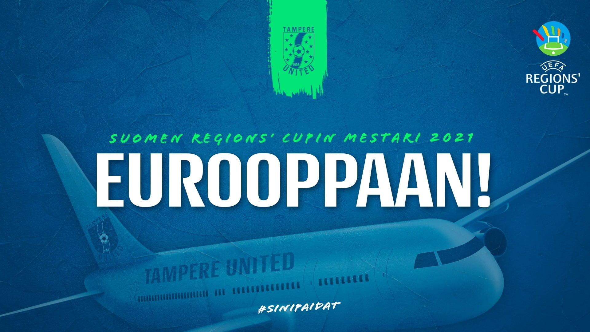 Tampere United voitti Suomen Regions' Cupin -uutiskuva