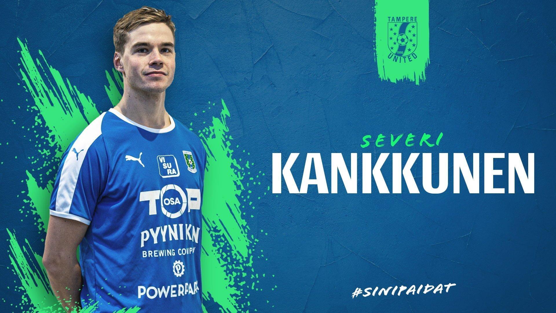 Toppari Severi Kankkunen jatkaa Tampere Unitedissa -uutiskuva